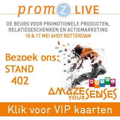 marketears theezakjes bedrukken op PromZ Live